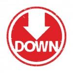 価格を下げる、災難をもたらす、気分を沈ませる「bring down」